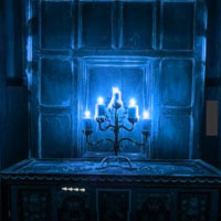 Gothic Blue Room Escape